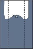 Ilustracija noža za presu